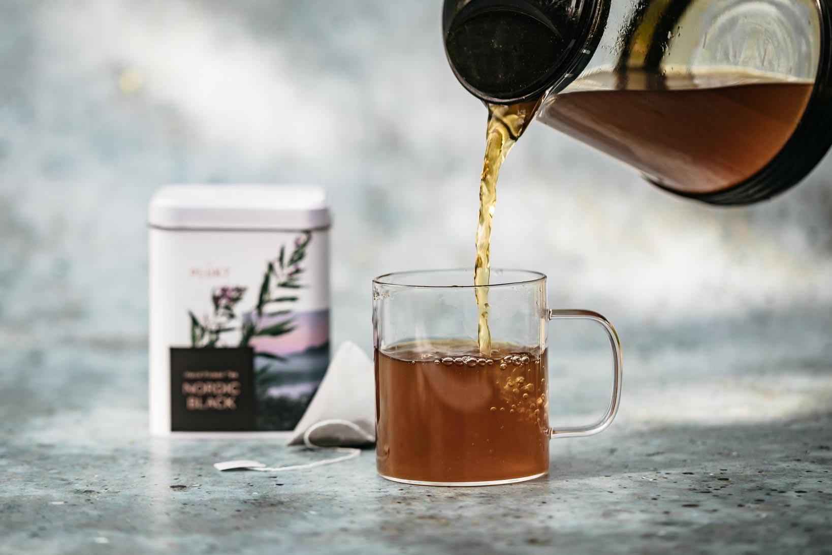 NORDIC BLACK TEA BREWED Plukt