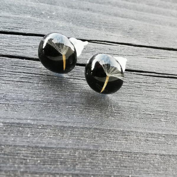 3 Earrings Drops Laura Daili model 2 Dew Drops