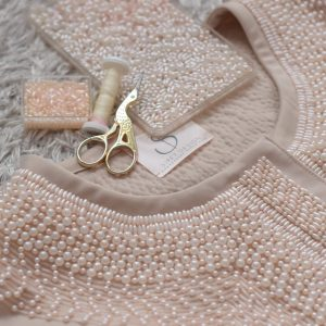 Beige graphical jacket with embroidery - siretdesign by baltic design stories (6)