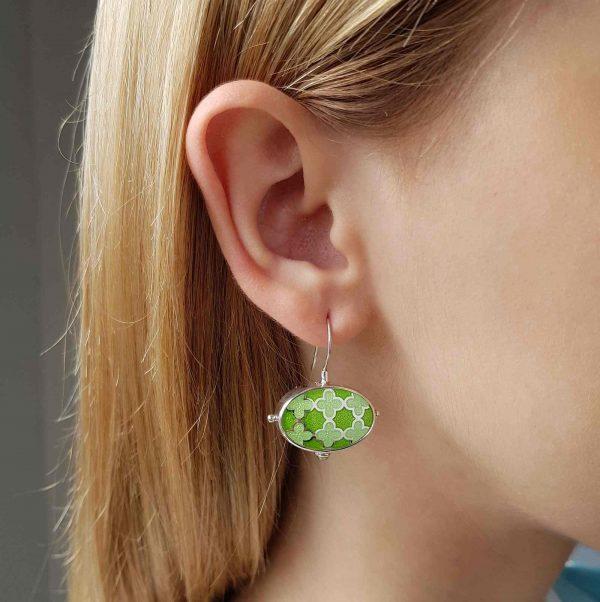 Silver_green_enamel_earrings_with_peridot-ENAMELI-3