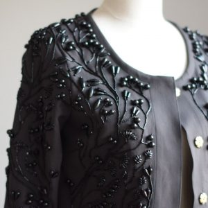 Siret design jacket with embroidery baltic design