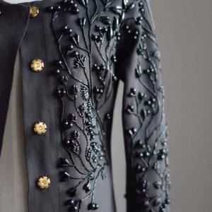 Siret design jacket embroidery