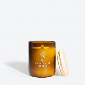 scented candle idunn smells like spells baltic design