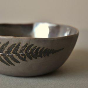 Sidrabceramics - Stoneware bowl set SILVER FERN