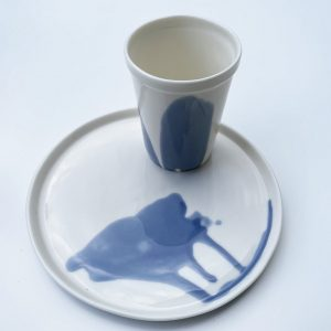"Tableware set ""Bathe"""